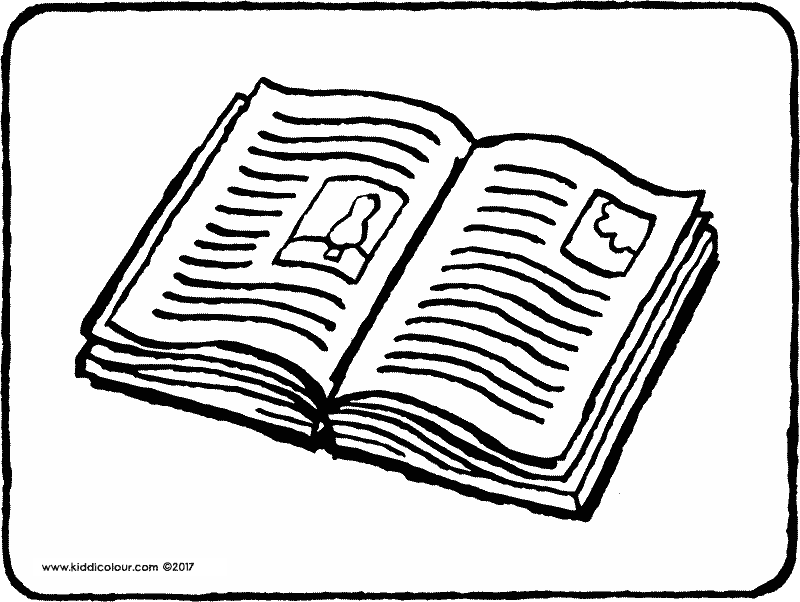 book colouring page drawing picture 01k