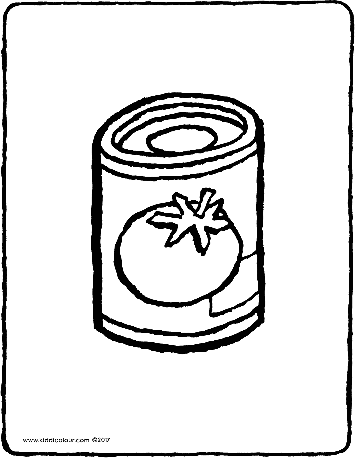 canned tomatoes colouring page drawing picture 01V