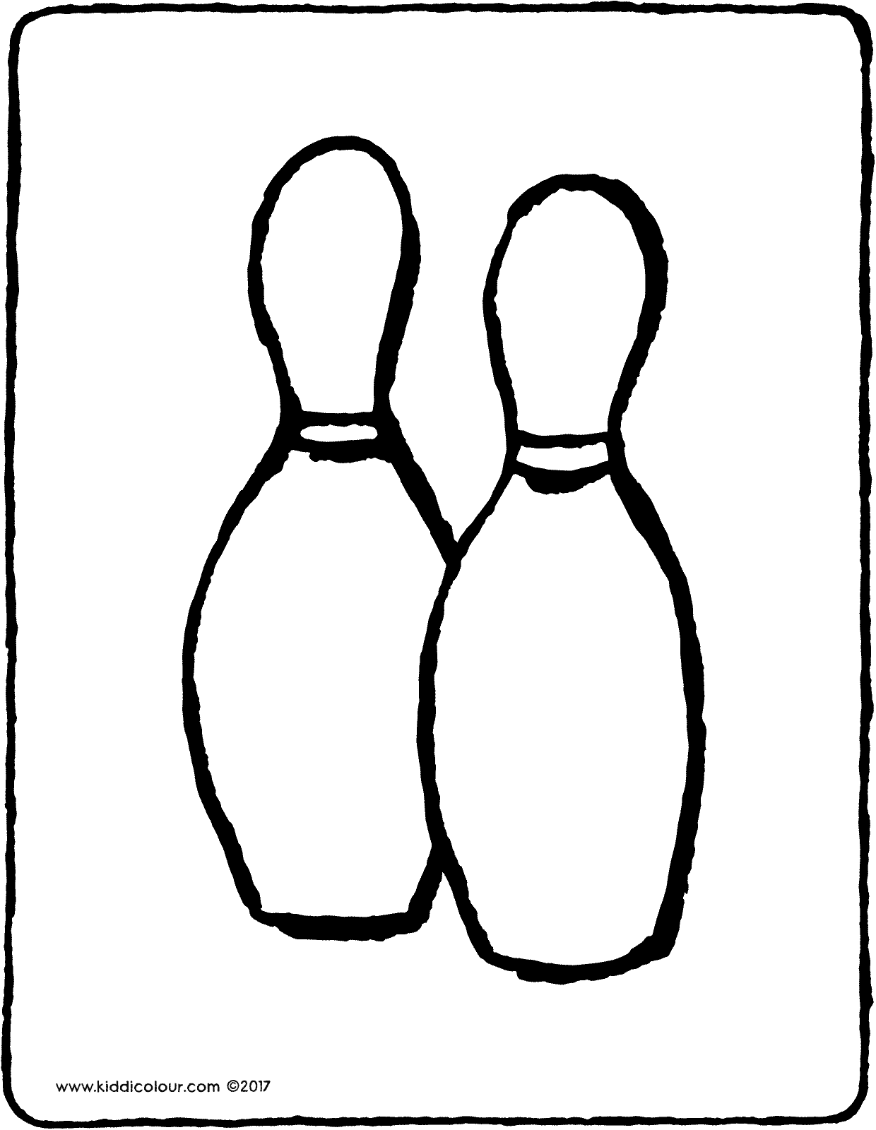 Bowling Coloring Pages - Coloring Home | 1600x1240