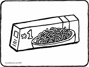 spaghetti in a packet