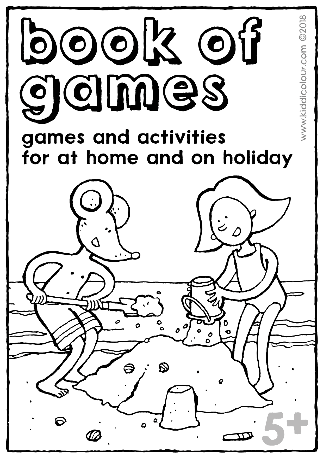 book of games summer holidays