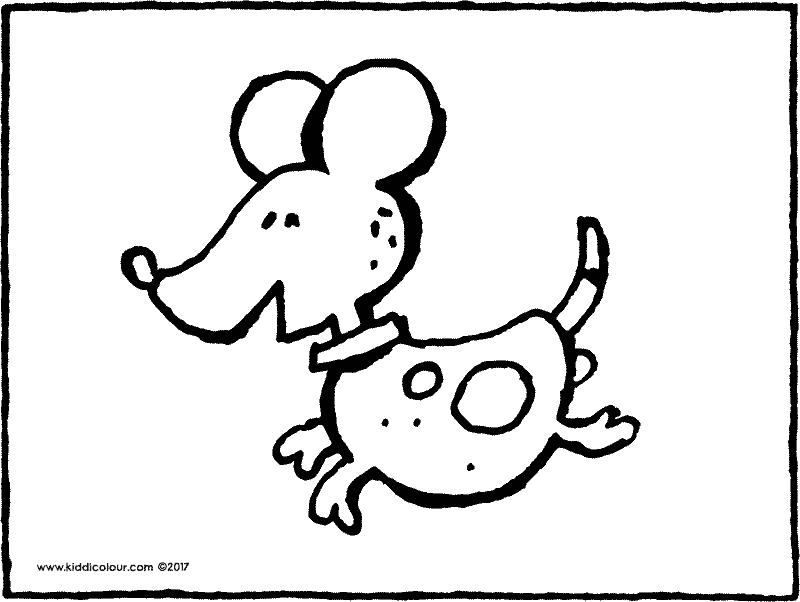 dog coloring page 02k