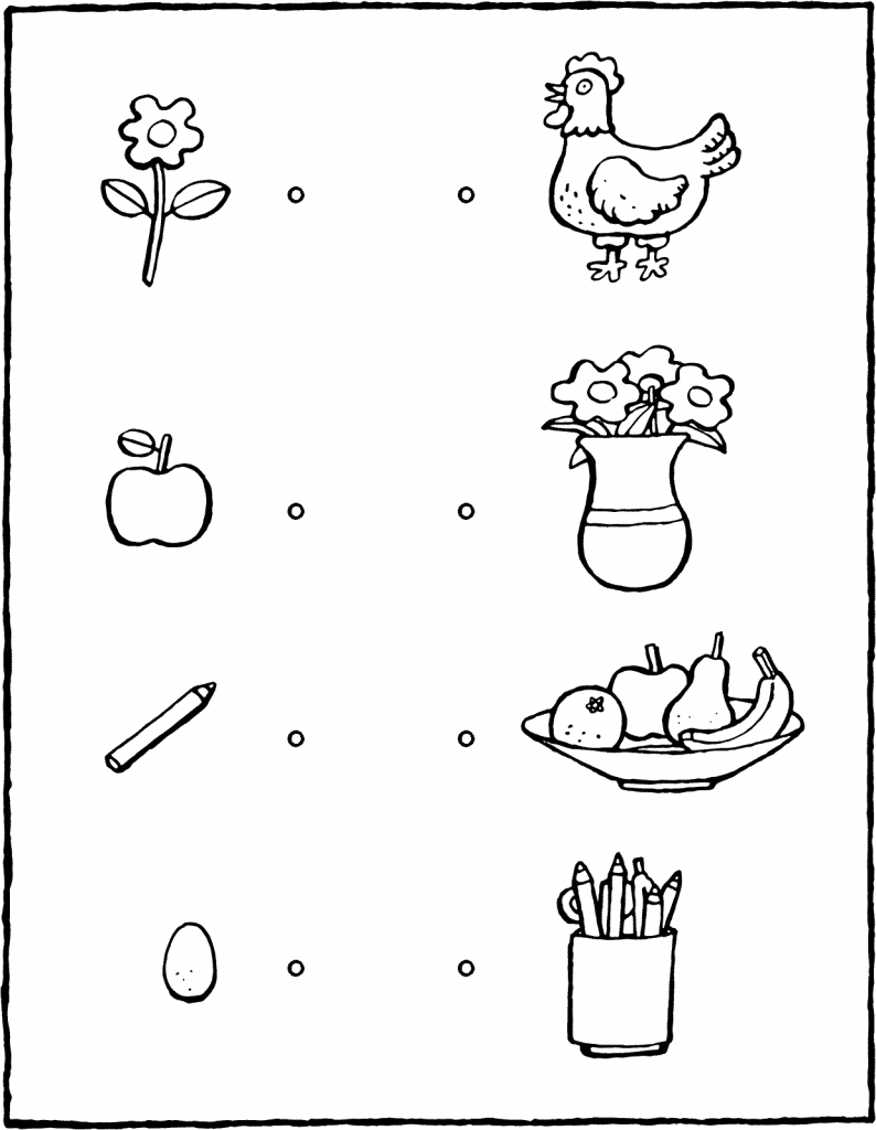 what belongs with what colouring page page drawing picture 01V