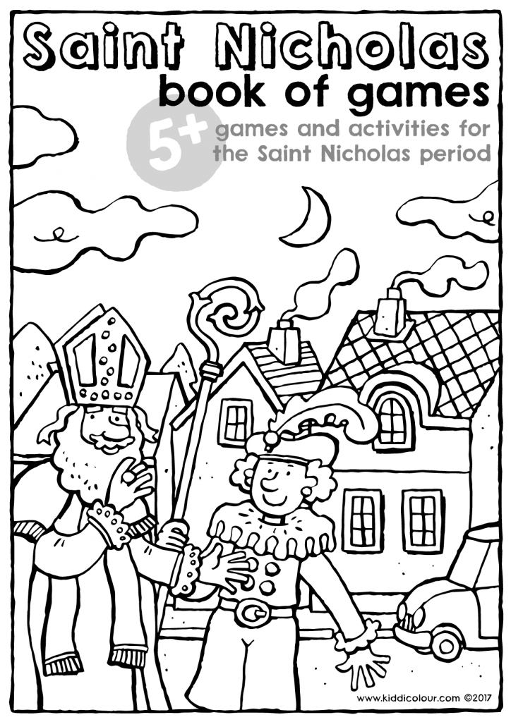 Saint Nicholas book of games 5+