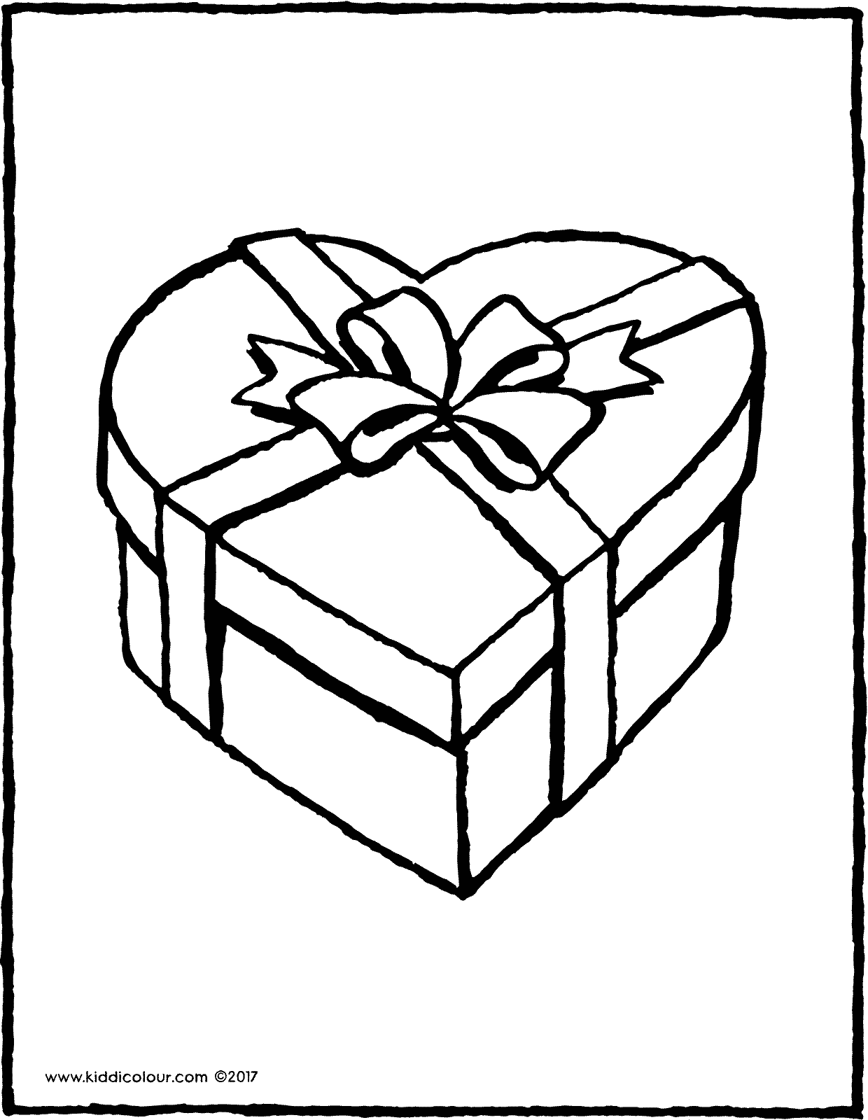 a lovely present colouring page page drawing picture 01V