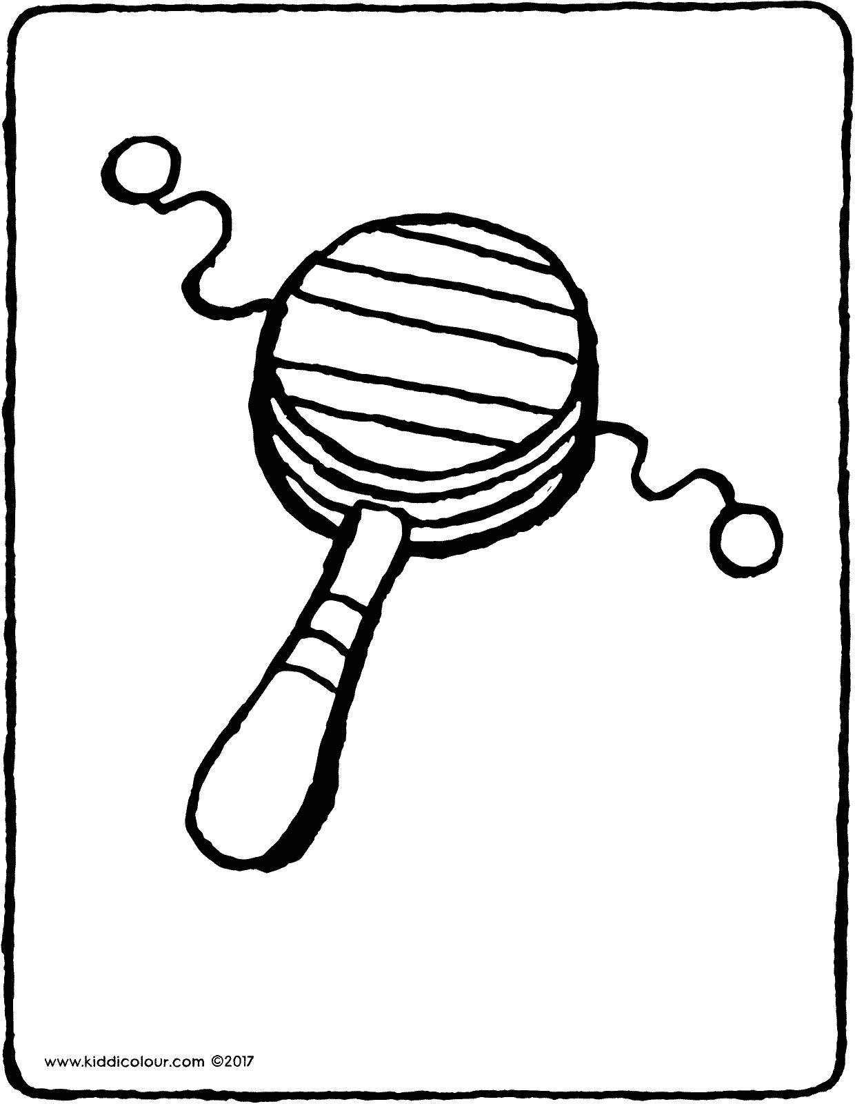 pellet drum colouring page page drawing picture 01V