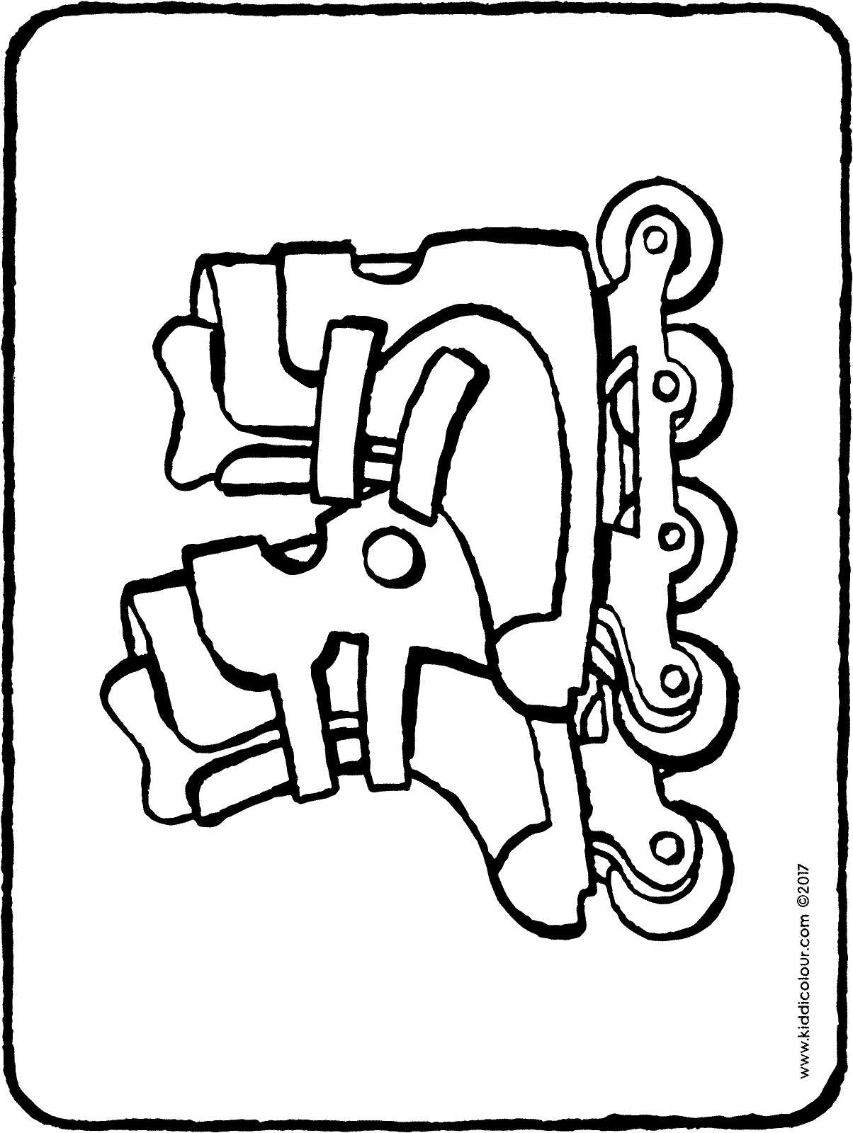 rollerblades colouring page page drawing picture 01H
