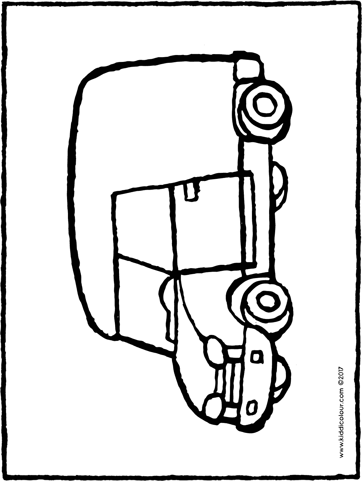 small van colouring page page drawing picture 01H