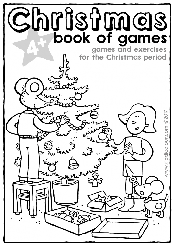 Christmas book of games 4+