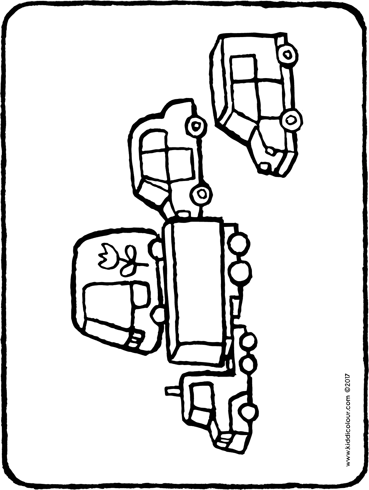 toy cars colouring page page drawing picture 01H