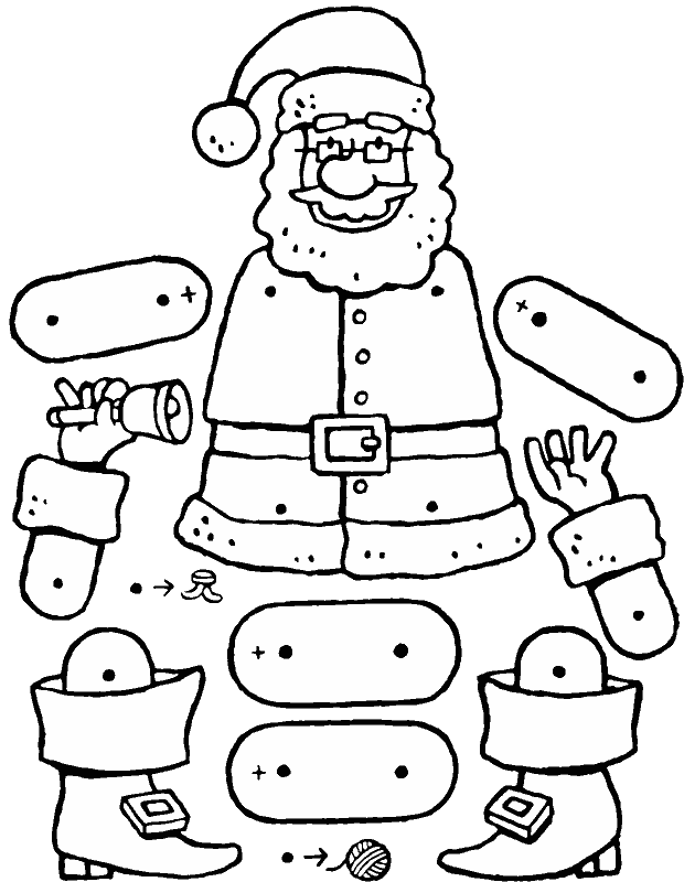 Puppen types colouring pages - kiddimalseite
