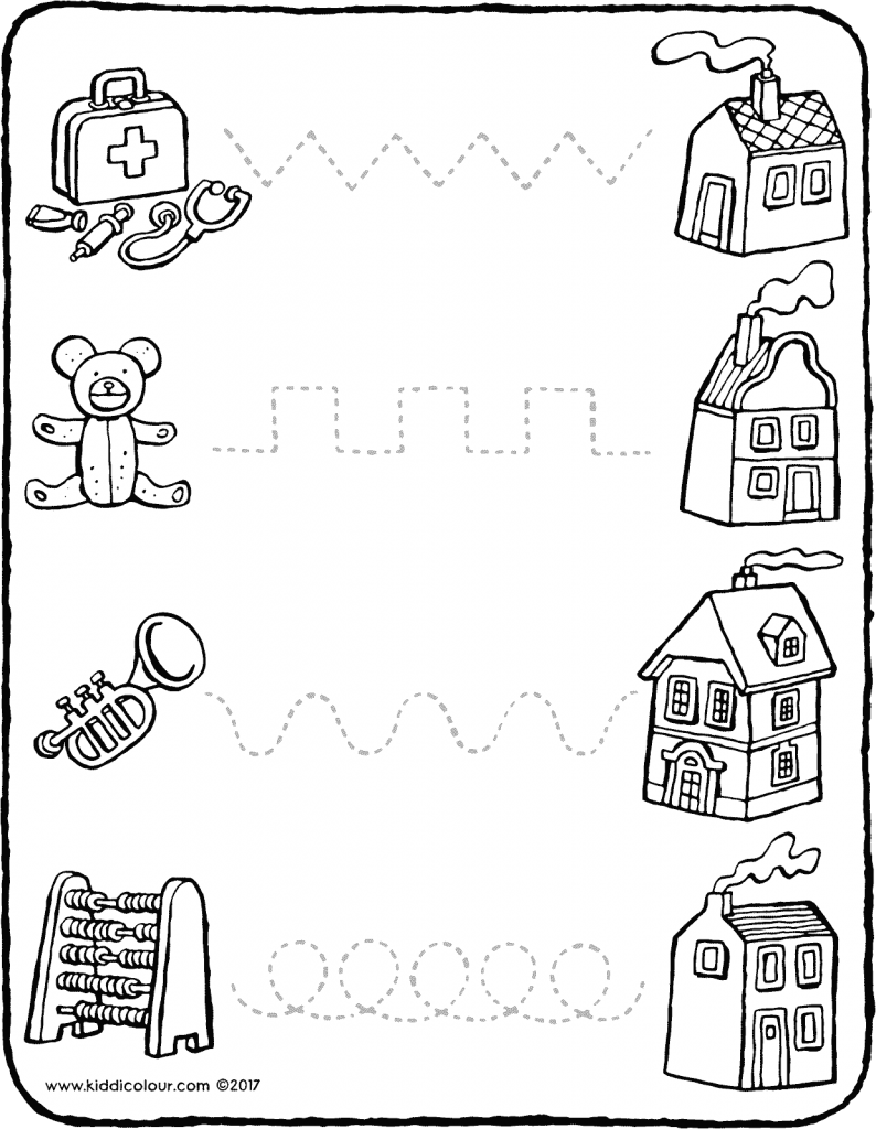 games join the dots follow the dotted lines colouring page drawing picture 01V