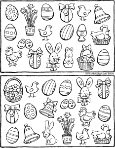 exercise: spot the 11 objects that are the same