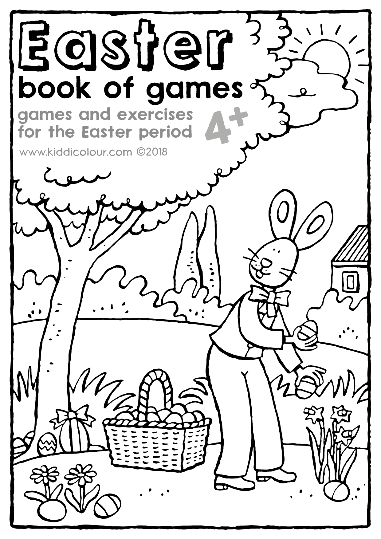 Easter book of games 4+