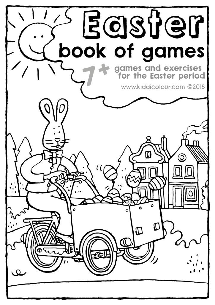Easter book of games 7+