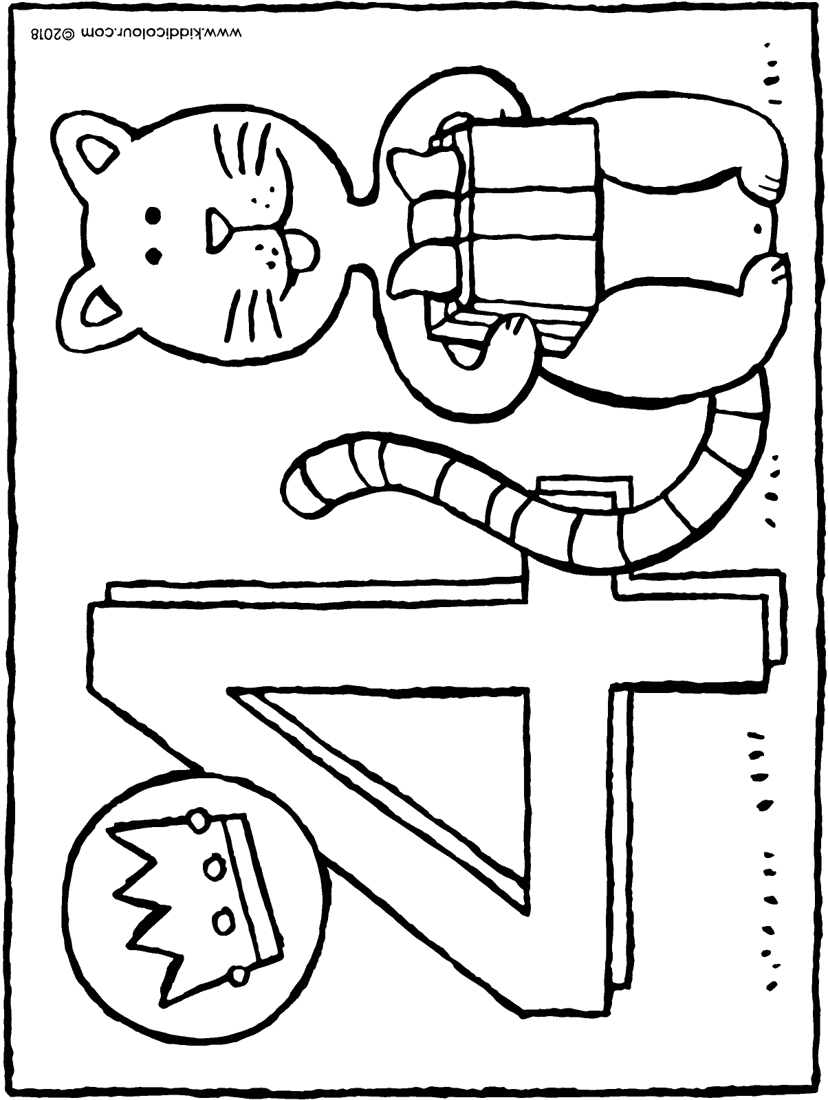 Geburtstag Colouring Pages Kiddi Kleurprentjes