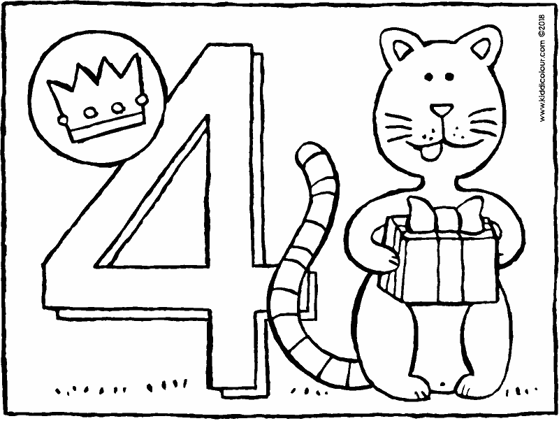 four today colouring page drawing picture 01k