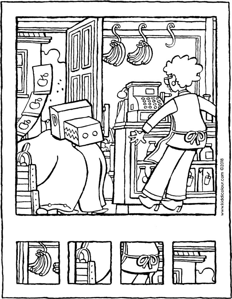 Winkel Colouring Pages Kiddicolour