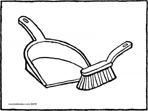 broom tree coloring pages - photo#27
