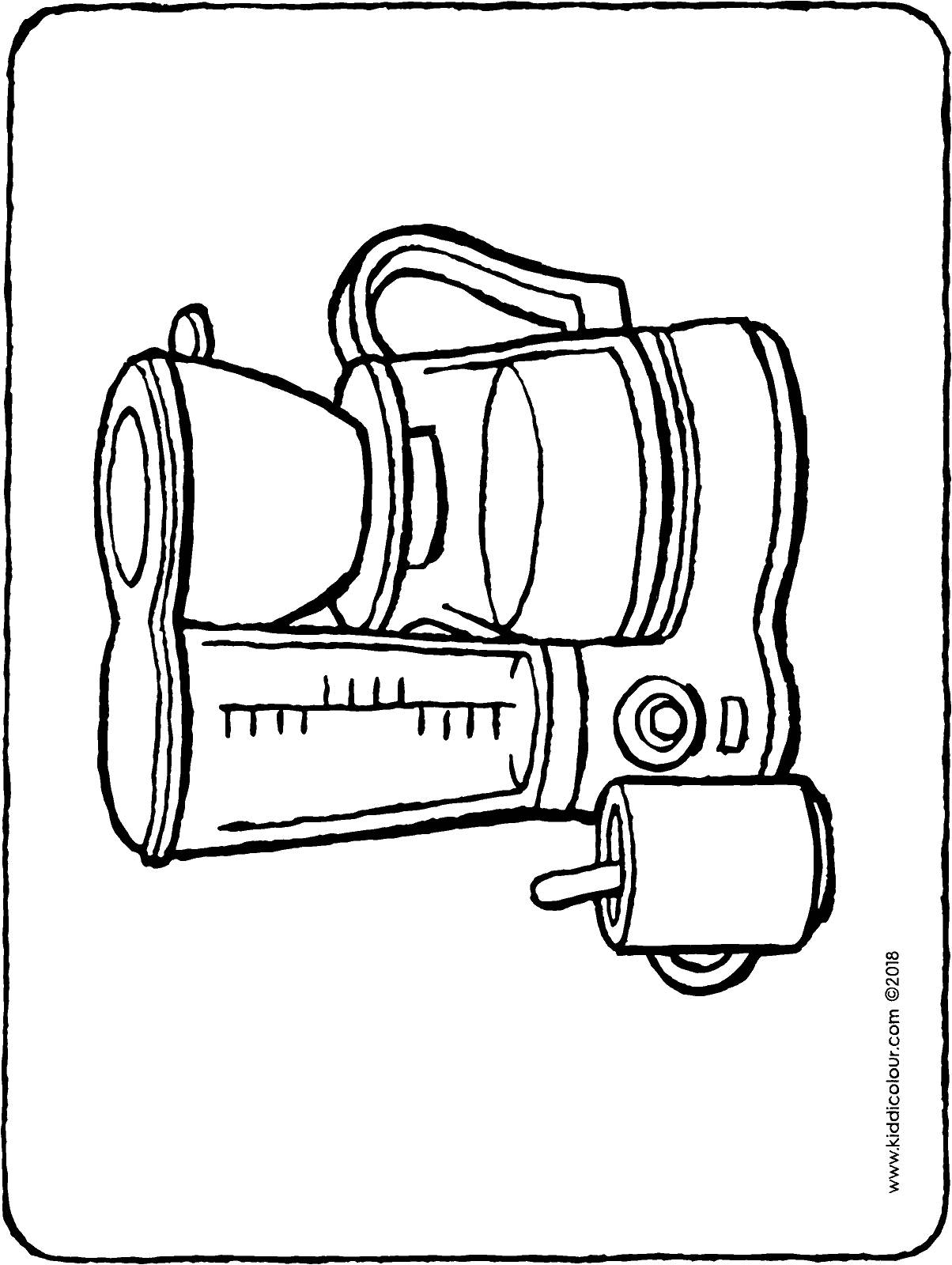 coffee machine colouring page drawing picture 01H