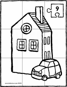 house and car puzzle