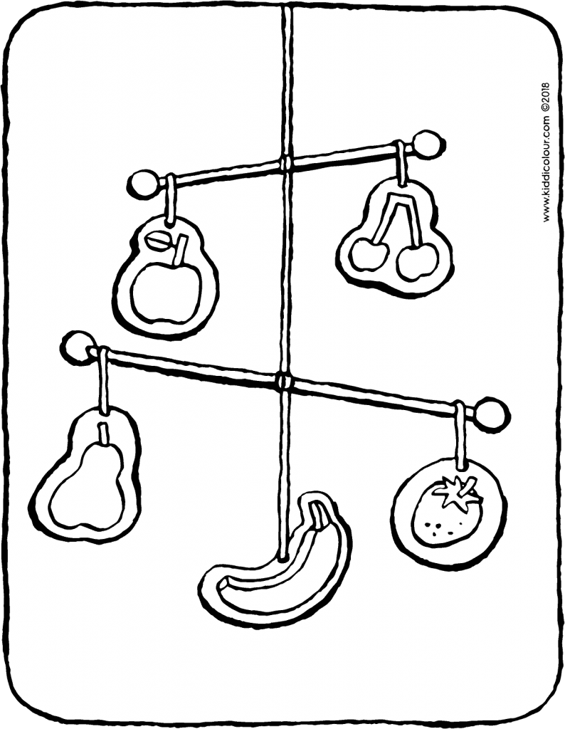 mobile colouring page drawing picture 01V