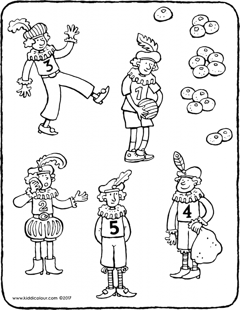 link the correct numbers to the mandarins colouring page drawing picture 01V