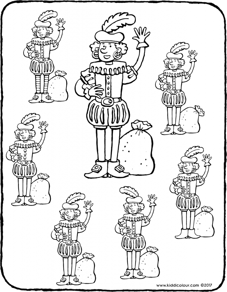 Nikolaus Colouring Pages Kiddimalseite