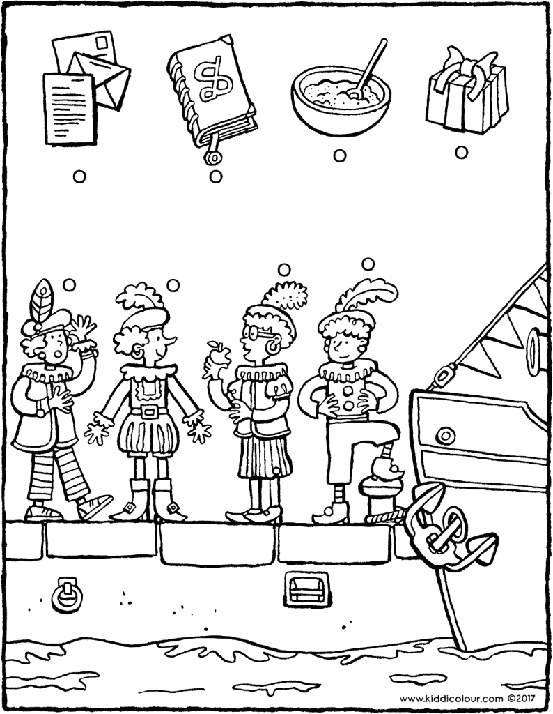 link each object to the correct Pete colouring page drawing picture 01V