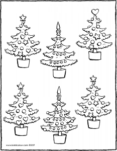 which two Christmas trees are the same