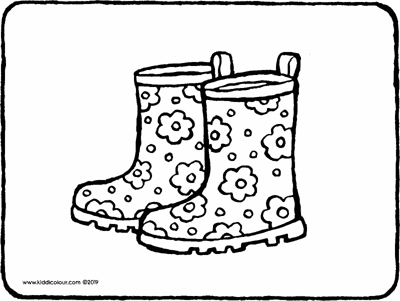 Clothes Colouring Pages Kiddicolour