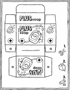make your own soap packet