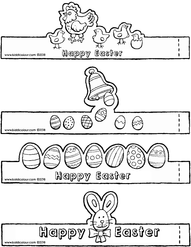 make your own Easter egg holders colouring page drawing picture 01k.png