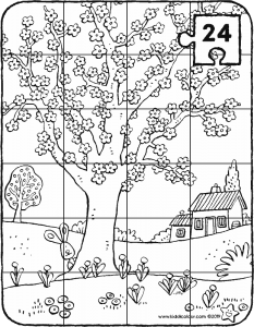 tree in bloom puzzle