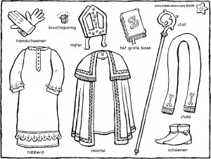 Saint Nicholas' clothes