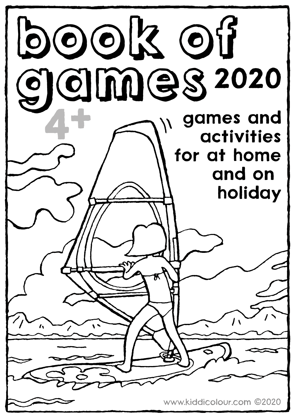 holiday activity booklet 2020