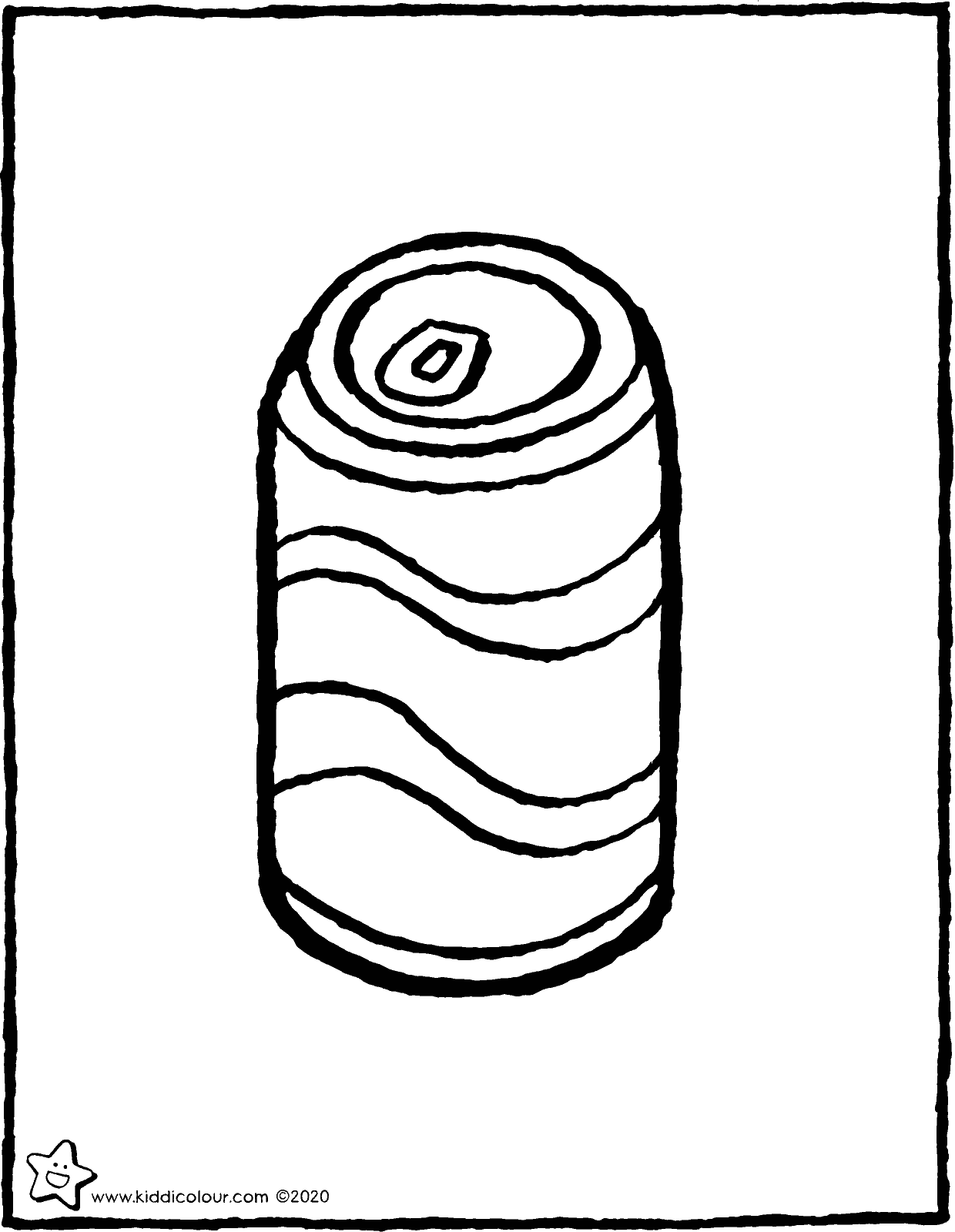 drink can colouring page drawing picture 01V