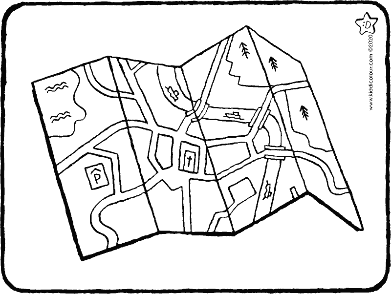 map colouring page drawing picture 01k