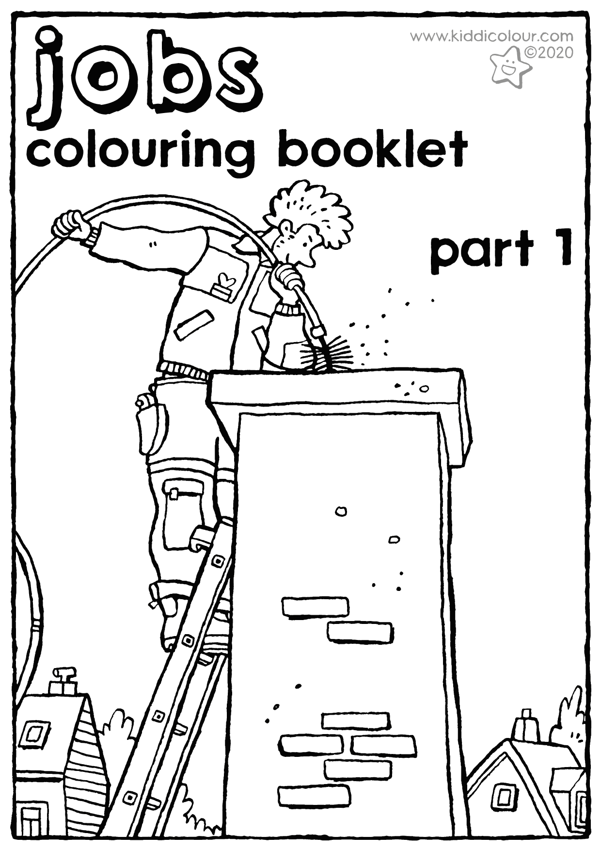 jobs colouring booklet part 1