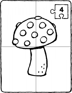 let's make a toadstool puzzle