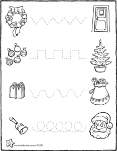 follow the dotted lines and celebrate Christmas