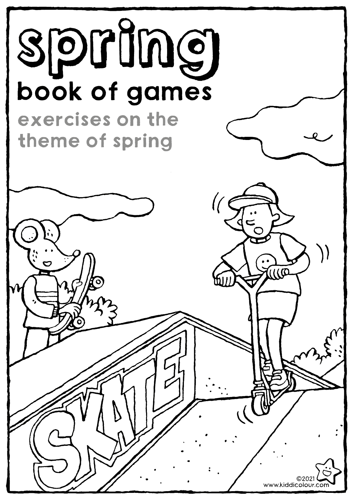 spring book of games