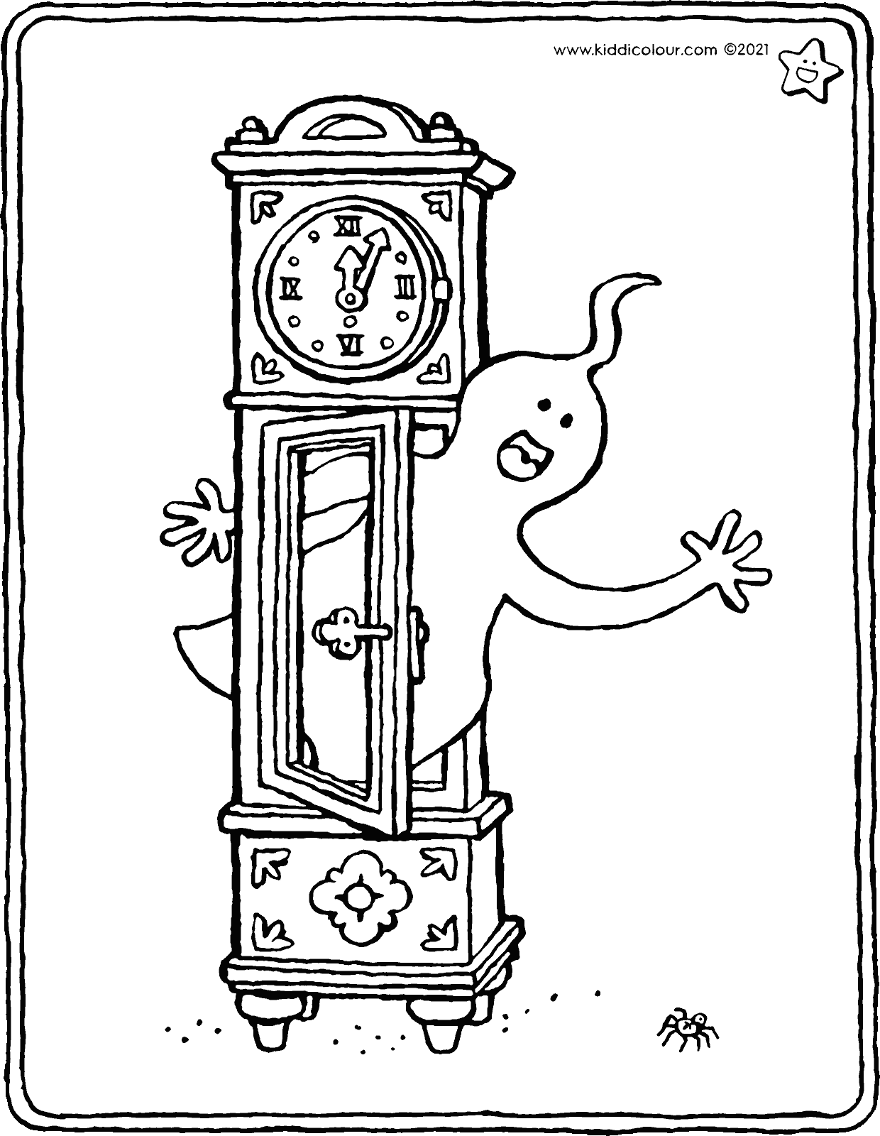 the witching hour coloring page - drawing - colouring picture 01V