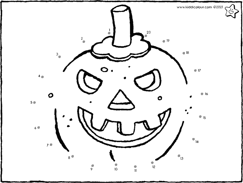 Halloween join the dots